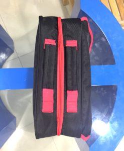 Bag custom made Tool Box School Bag Black and Red