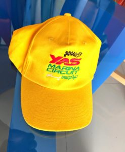 Caps with Embroidery yellow colour for cheaper price.