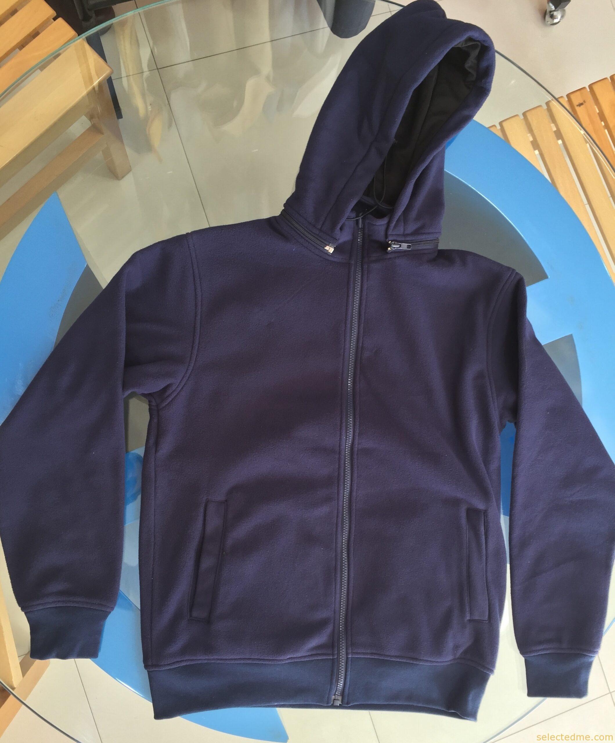 Detachable Fleece hoodies sweatshirts winterwear hooded jackets in Dubai UAE
