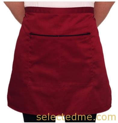 Half aprons with pocket design pattern