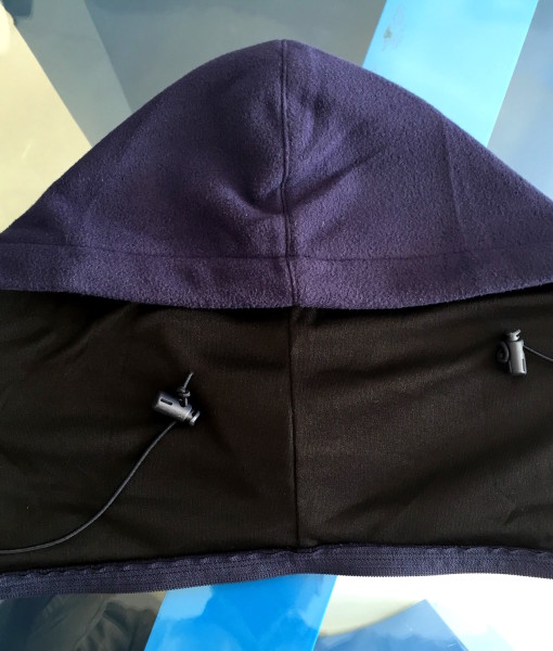 Hoody front winter wear detachable. Hoodie removed from Jacket