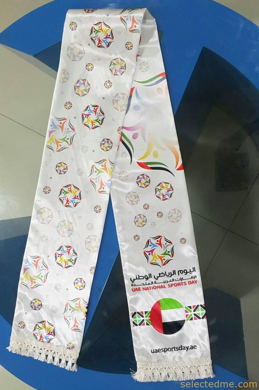 Scarf Shawls Custom Made With Sublimation Printing