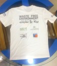 T-shirts back side with screen printing multi color in Dubai