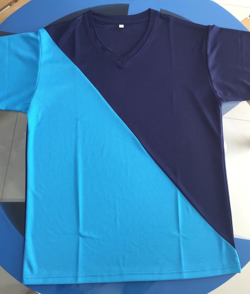 V-Neck T-shirts cotton spandex & sports T-shirts for men and women in Dubai UAE with printing