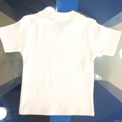 children's T-shirt backside plain interlock quality last longer