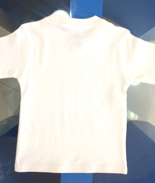children's T-shirt backside plain interlock quality last longer