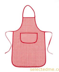 Kids apron with with pocket for school events.