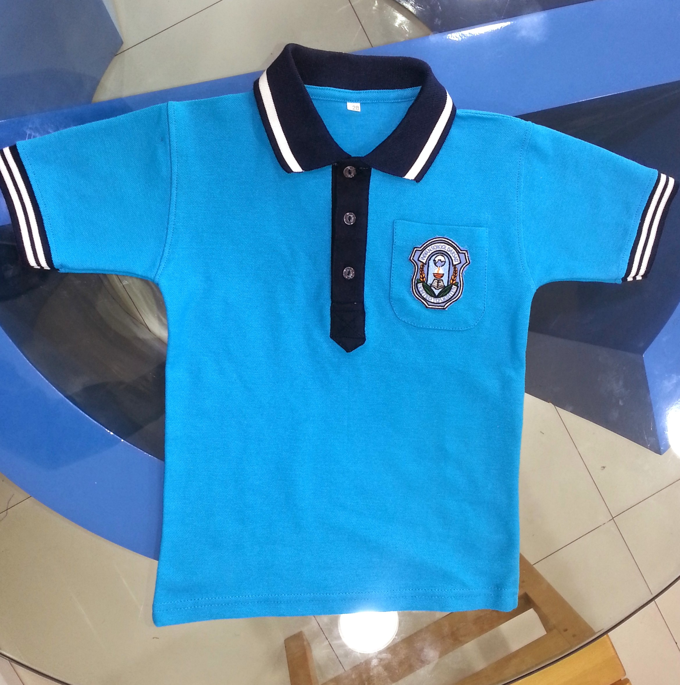 Turquoise School Polo Shirts