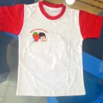 school children kindergarten T-shirts for children with school logo printing