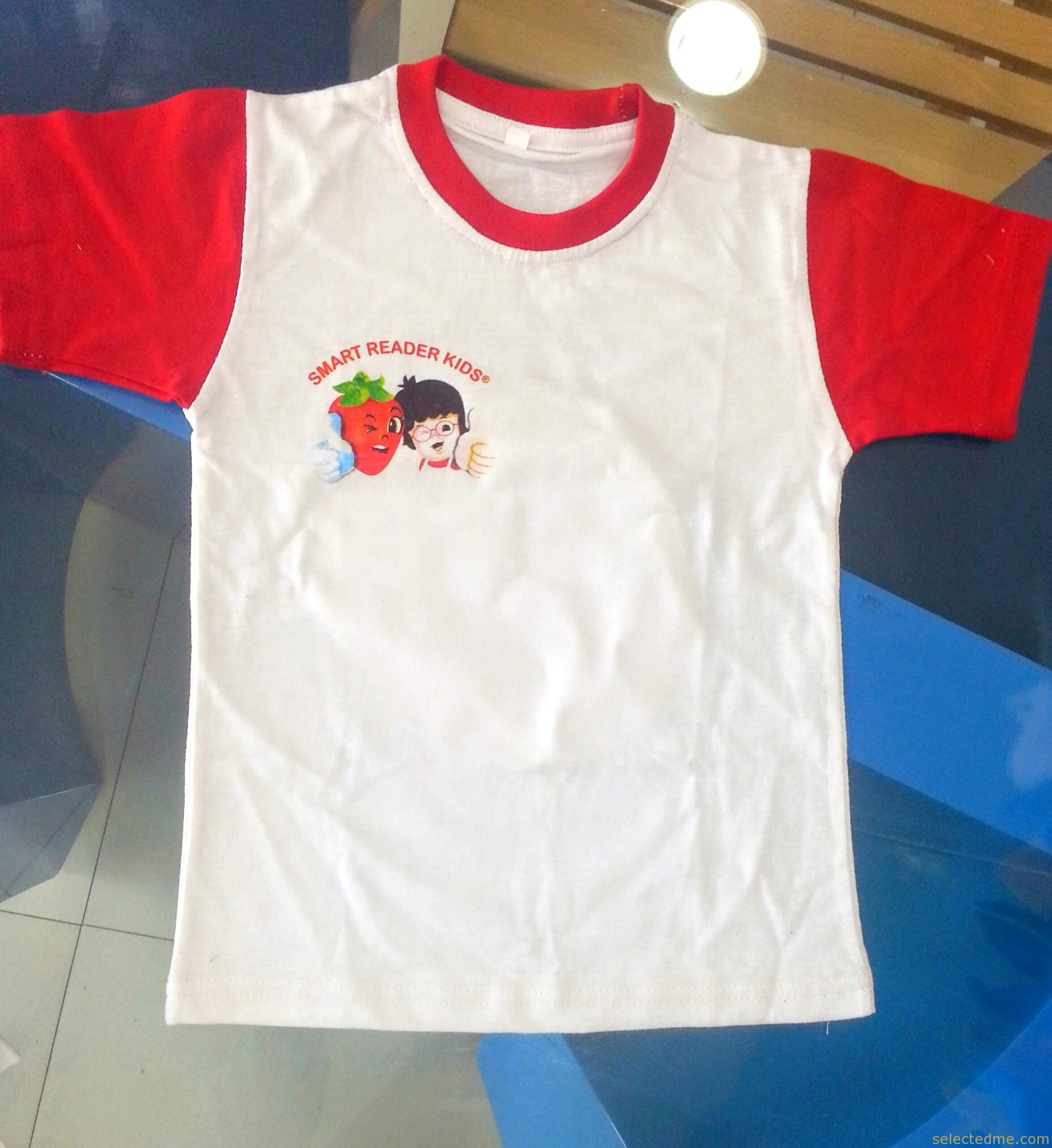 school children kindergarten T-shirts for children with school logo printing