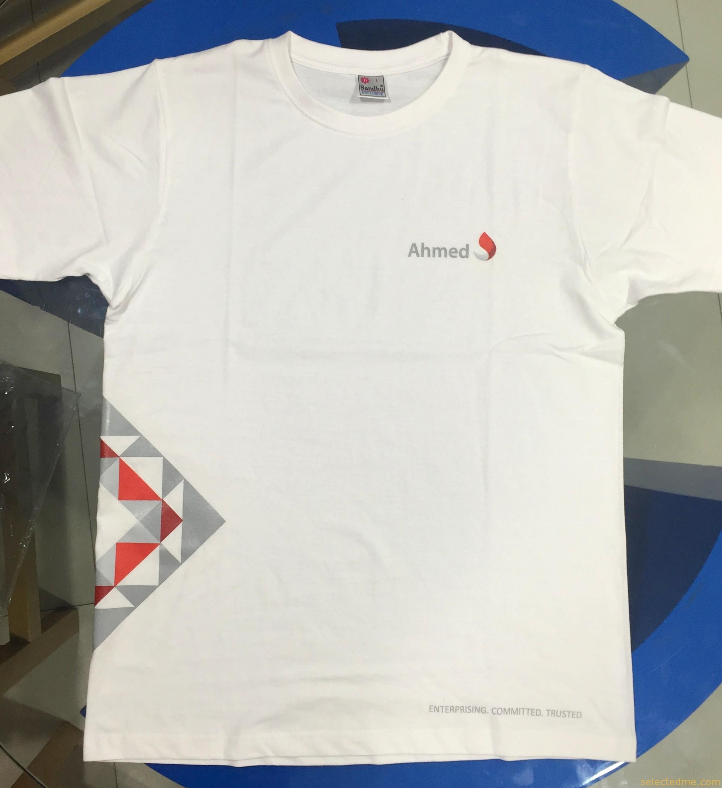 White apron dubai - White T Shirts Printing In Dubai Uae
