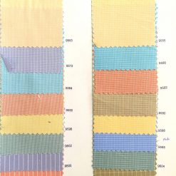 Checked shirting colours for shirt
