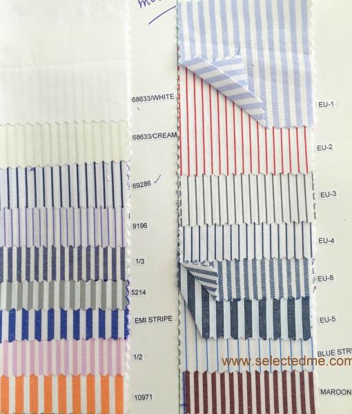 Striped Shirts & Checked Shirts colour guide - cotton shirt in Dubai UAE.