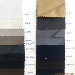 Pv gabardine Suiting for Trouser suits jackets coverall colours and fabrics