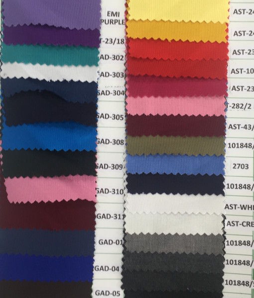Poly viscose plain weave colors for pant cargo trouser
