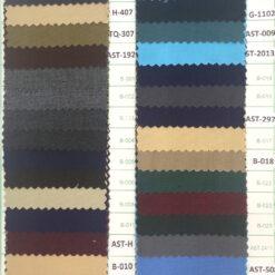 Poly viscose plain weave colours for pant cargo trouser