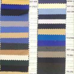 Poly viscose plain weave colours guide for pant cargo trouser doctor coat