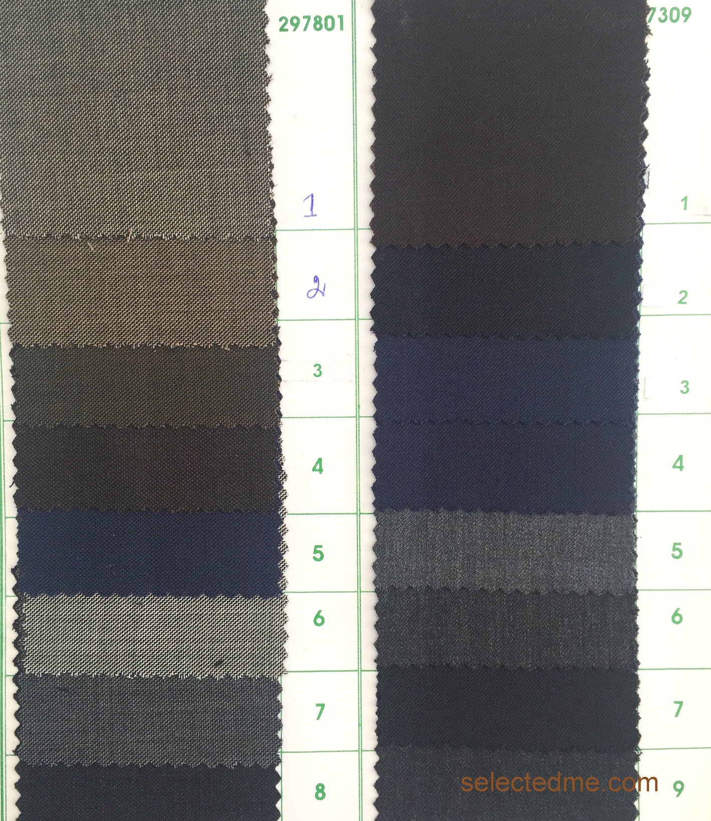 Poly wool suiting fabric colours for suit jacket trouser