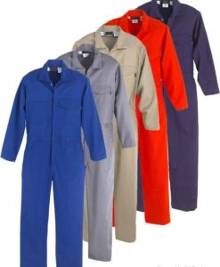 coveralls in Dubai UAE size and colours