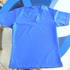 nursing scrubs uniform top and bottom design Blue colour