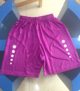 Sports Shorts Purple colour with sublimation printing