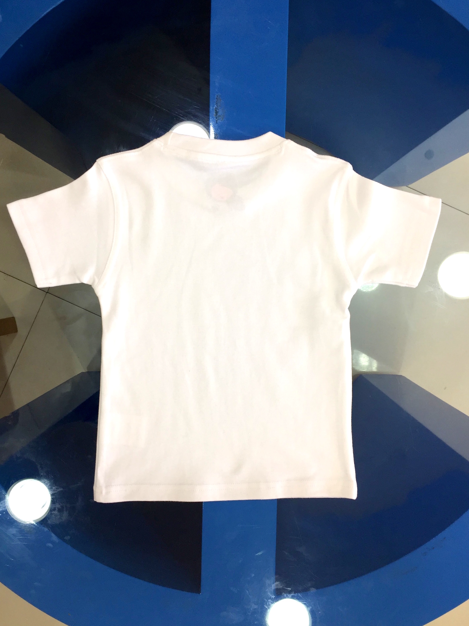 Children t shirt wholesale plain white readymade t shirts Cheap plain white shirts