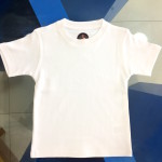 Children T-shirt wholesale – Plain White readymade T-shirts