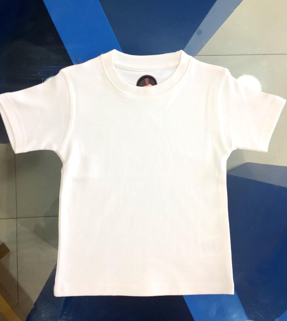 Children t shirt wholesale plain white readymade t shirts for High quality plain t shirts wholesale