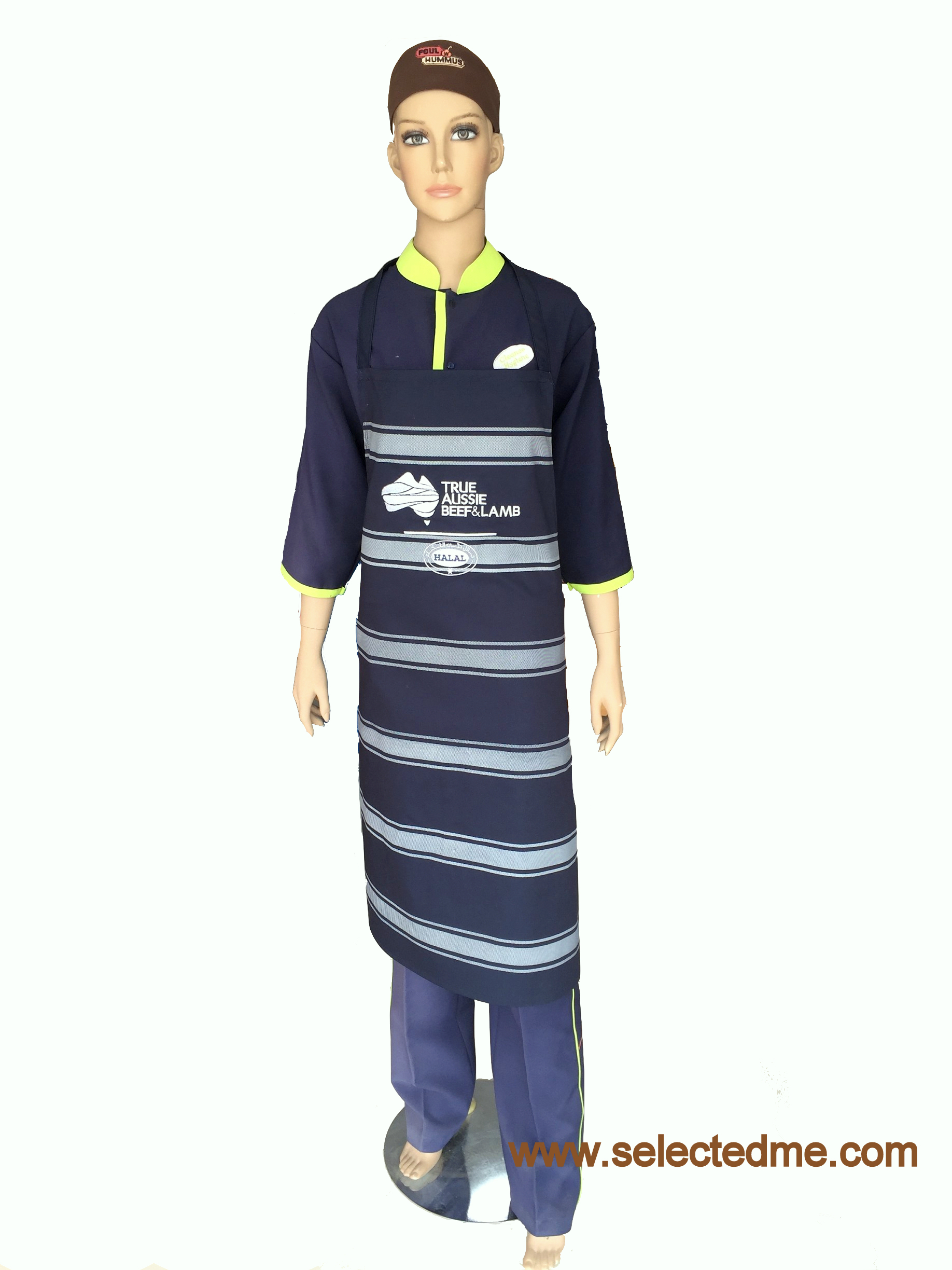 Designer Apron in Dubai UAE with printing Design Model