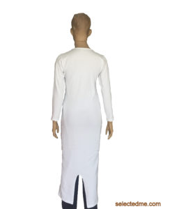Arabic Long Dress for Female back side