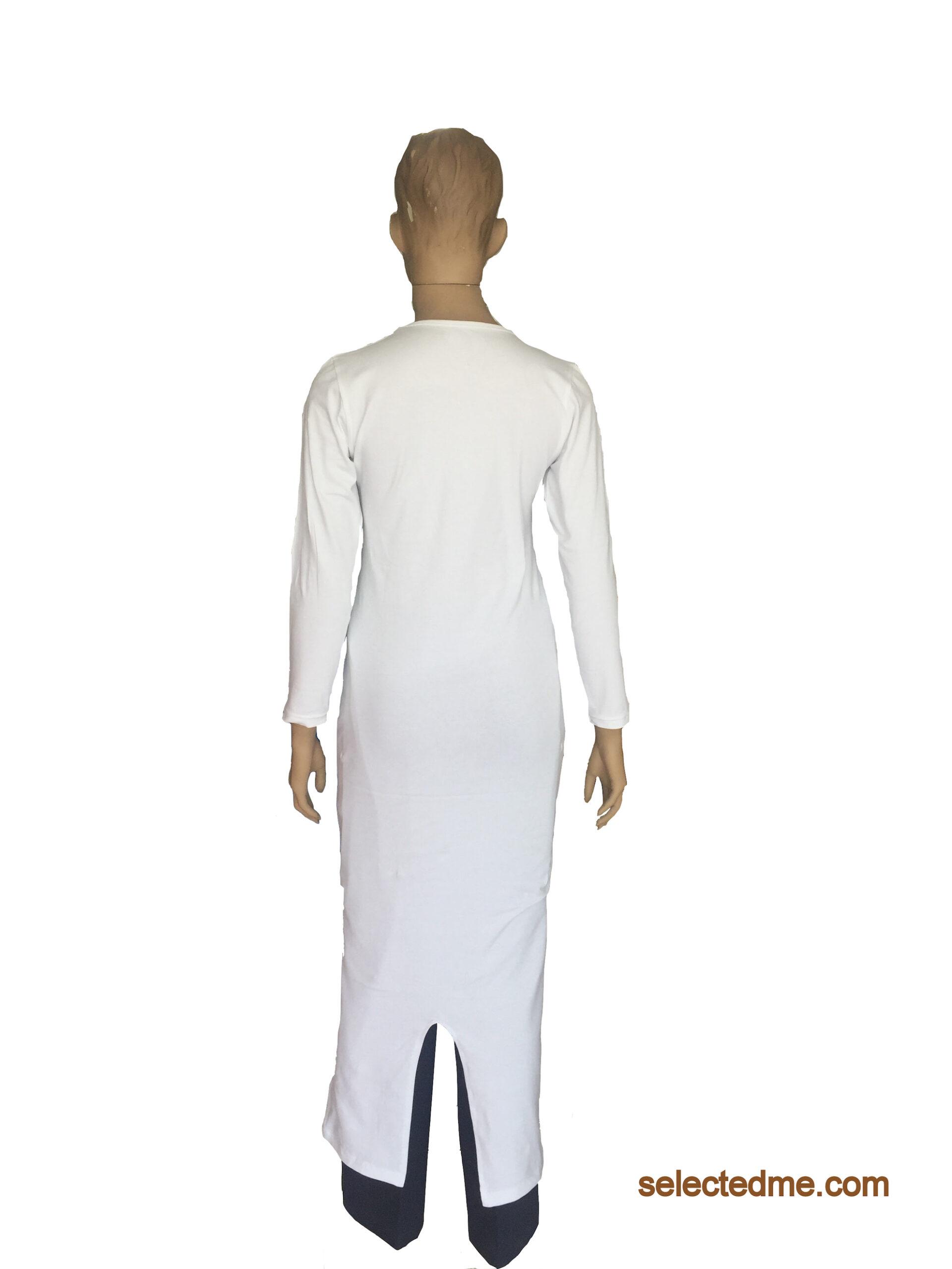 Arabic Long Dress for Female back side