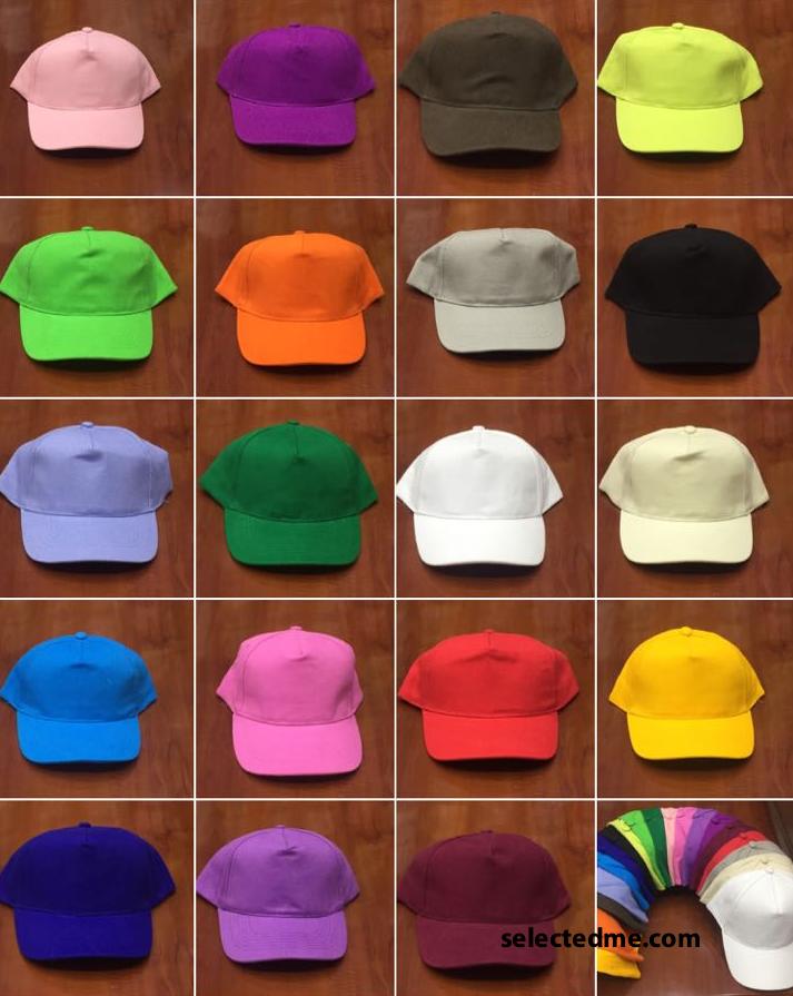 Baseball Cap Colours