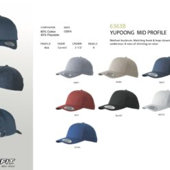 Baseball Caps 6363B Flexfit