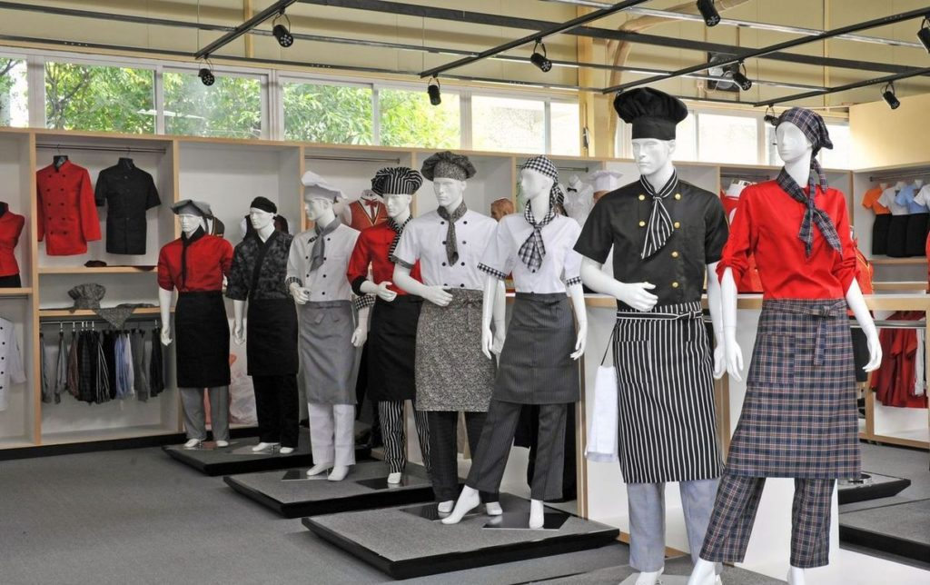 Chef Uniforms designs - Chef coats, Aprons, Trousers, Chef Jackets, Restaurant Uniforms & Hotel Uniforms wholesale. Retail Stocklists Wholesale