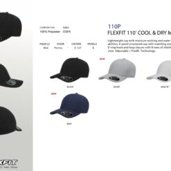 Cool & Dry Caps - Water Repellent & Light weight Caps 110P