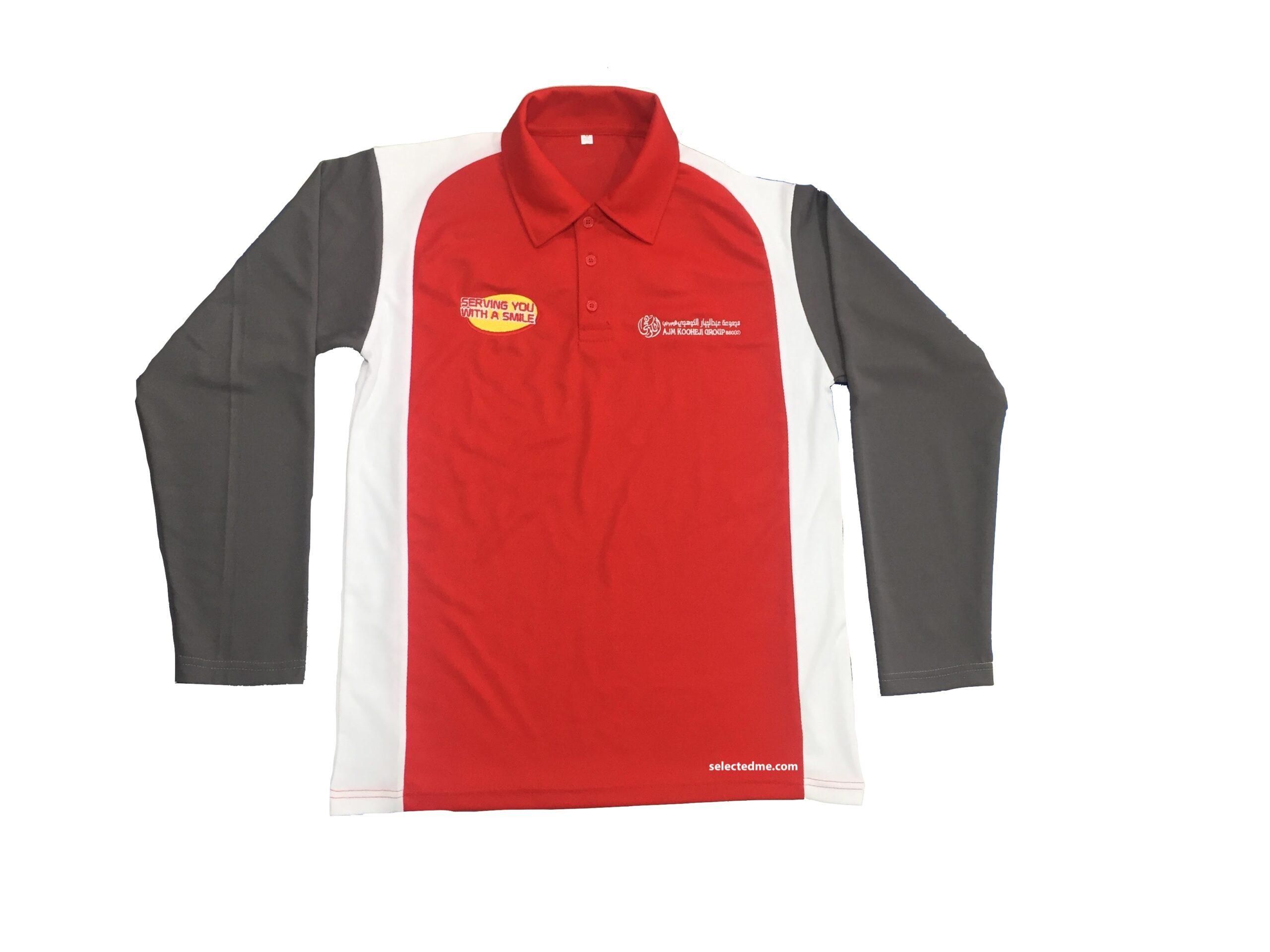 Dri fit Polo Tshirt Long sleeve