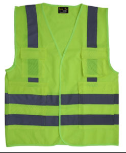 Executive Safety vests - Reflective vest with pockets