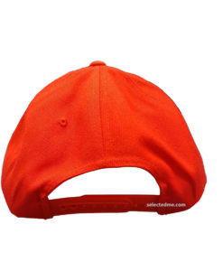 Plastic snap back on the backside