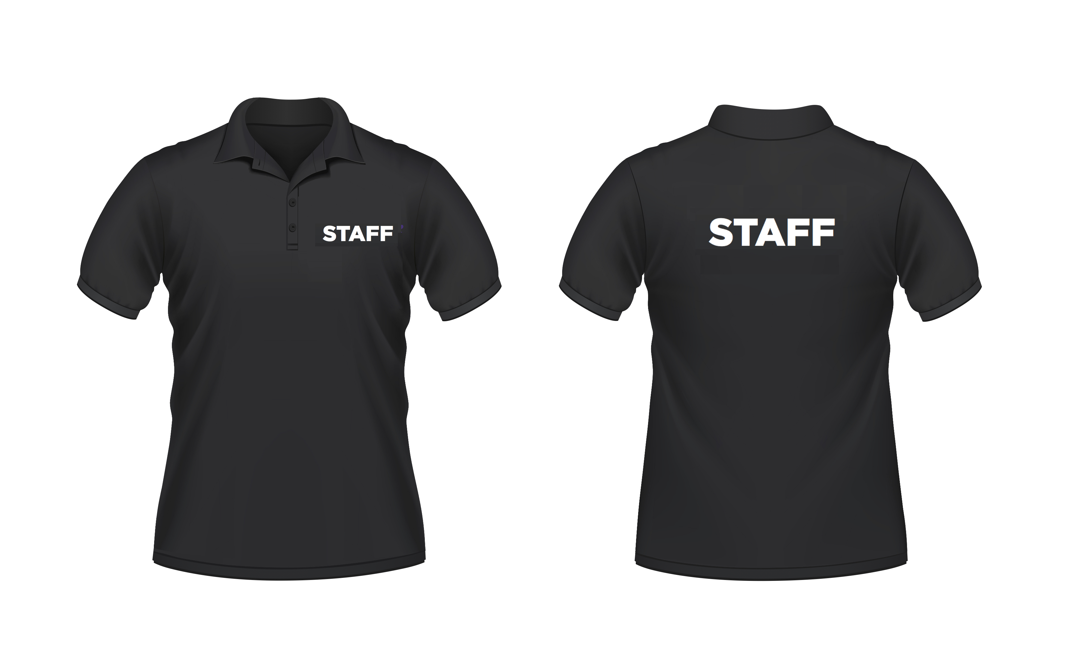 Event Staff T Shirts Custom Staff Polo Shirt Ideas