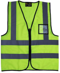 Safety Jackets with ID Card Holder - High Quality Reflective Jackets