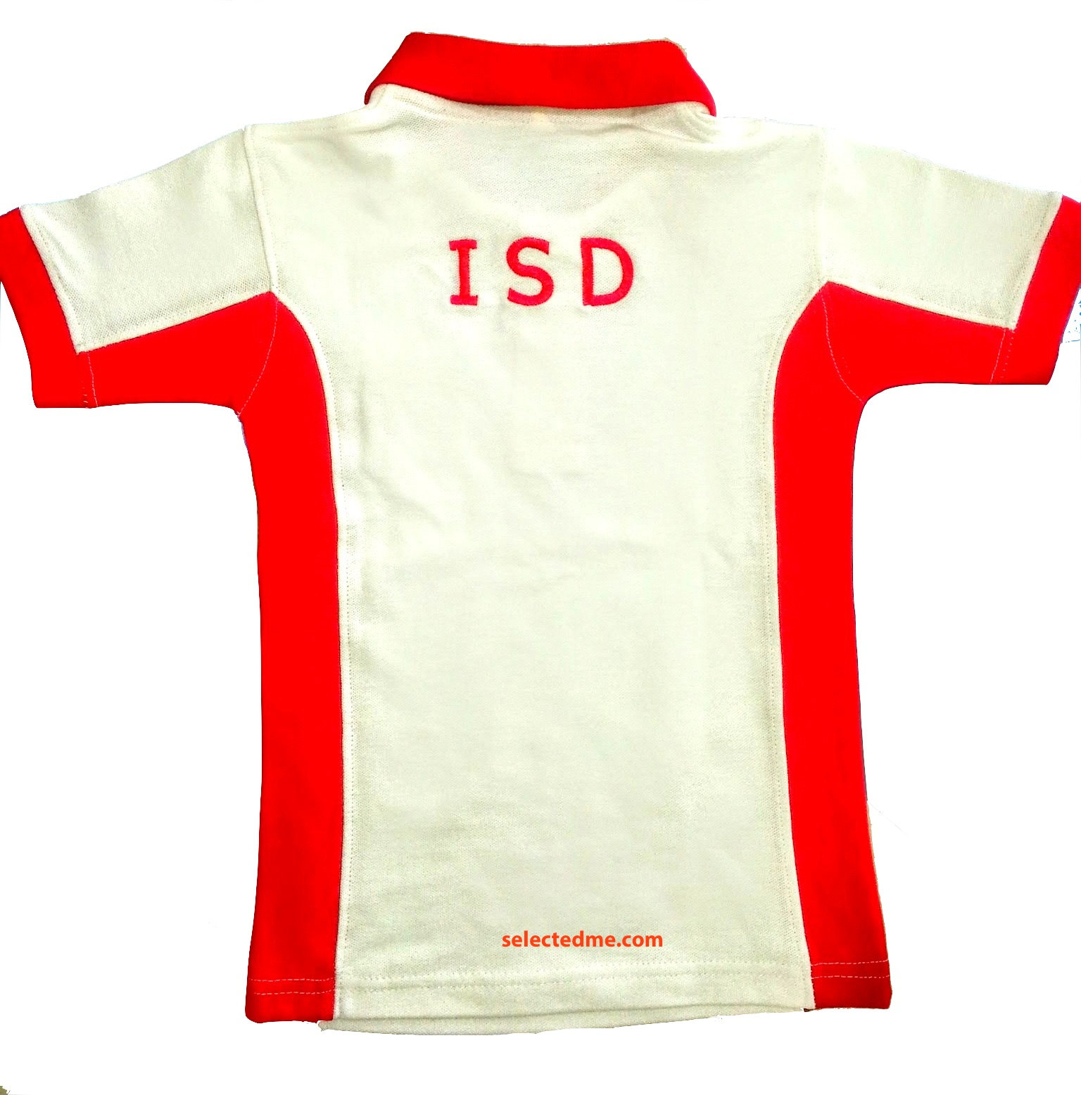 School Children Polo Shirts Back