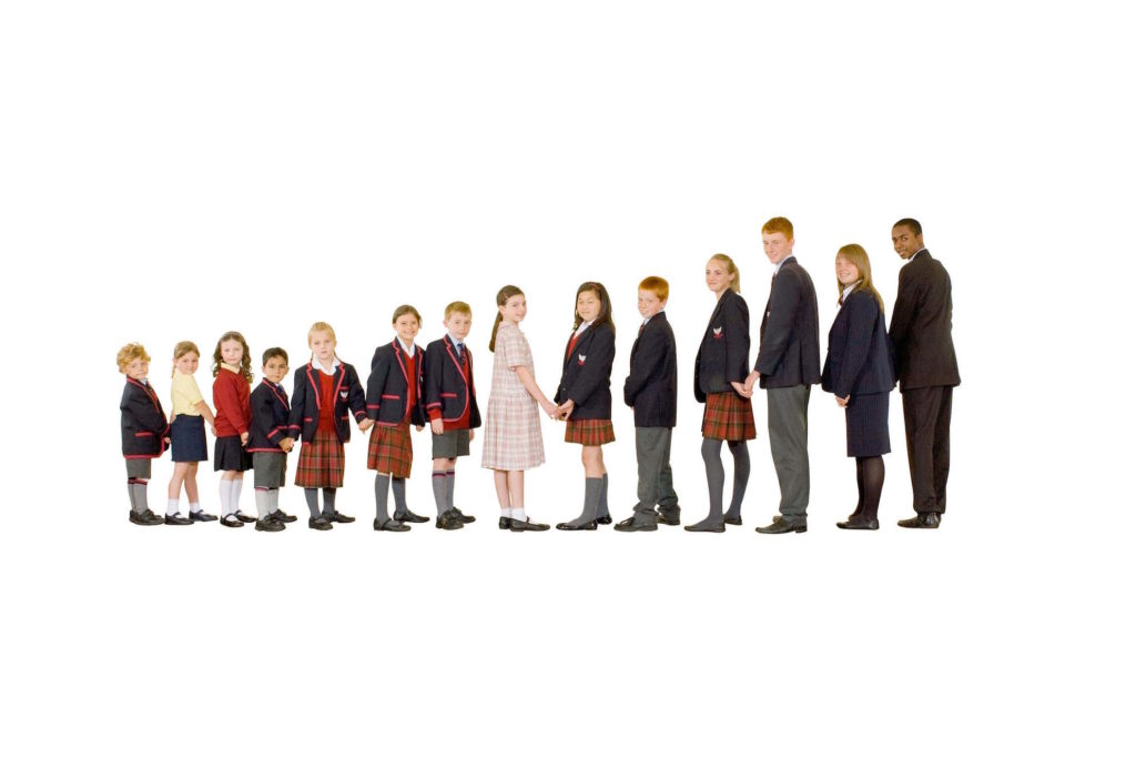Kids School Uniforms in Dubai - United Arab Emirates. Wholesale Supplier of school uniforms
