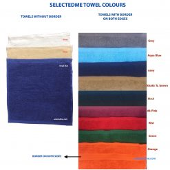 SelectedME Towel Colours