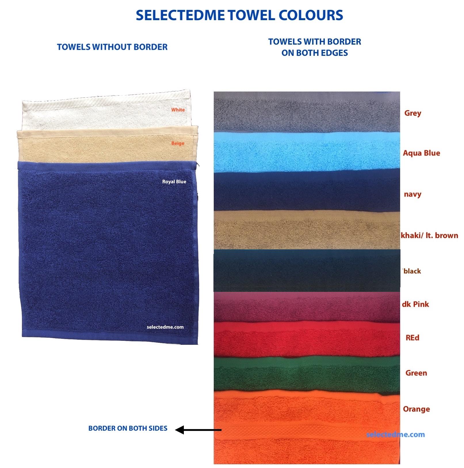 SelectedME Towel Colours