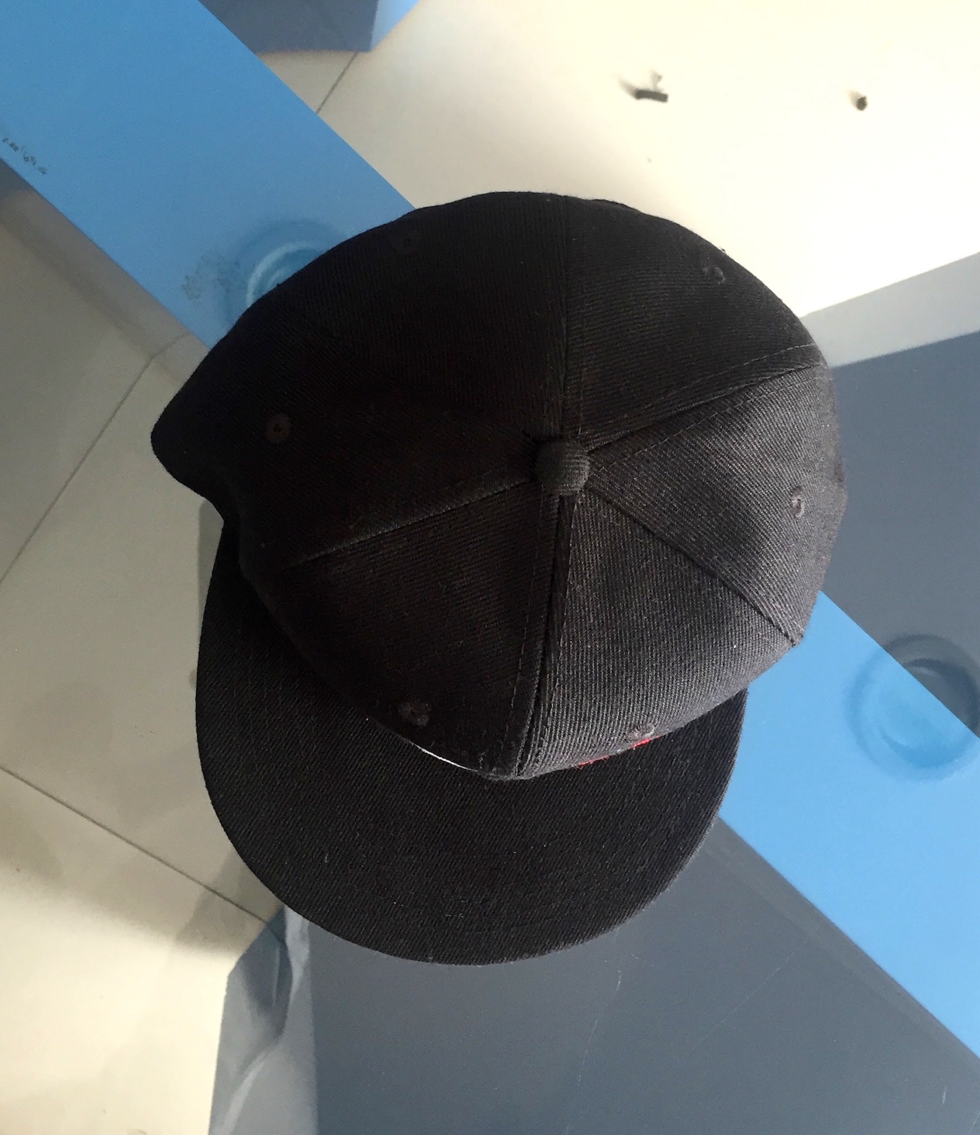 Snapback Caps Top view