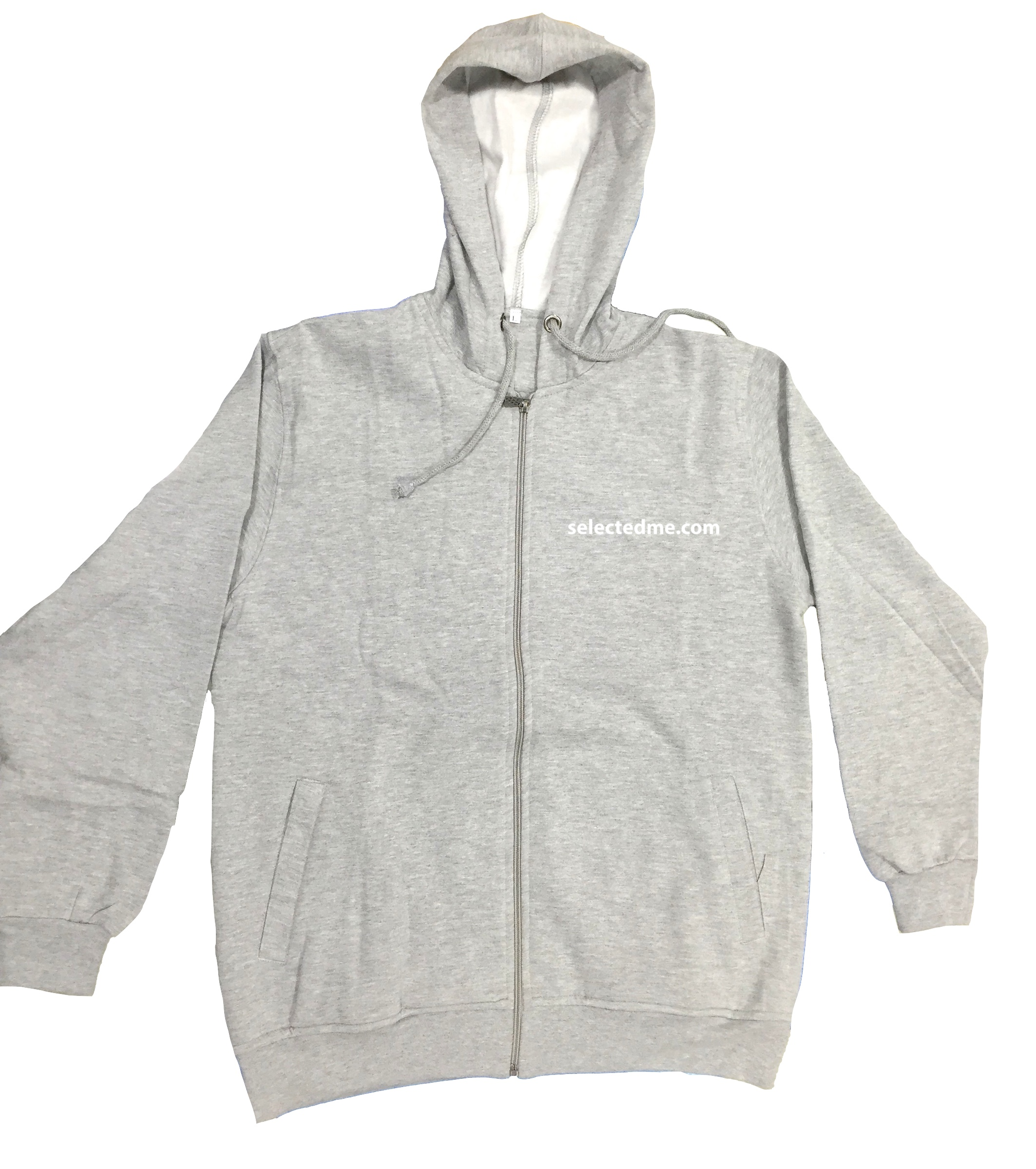 Sweat Shirt - Hoody Jacket with zipper Long sleeved