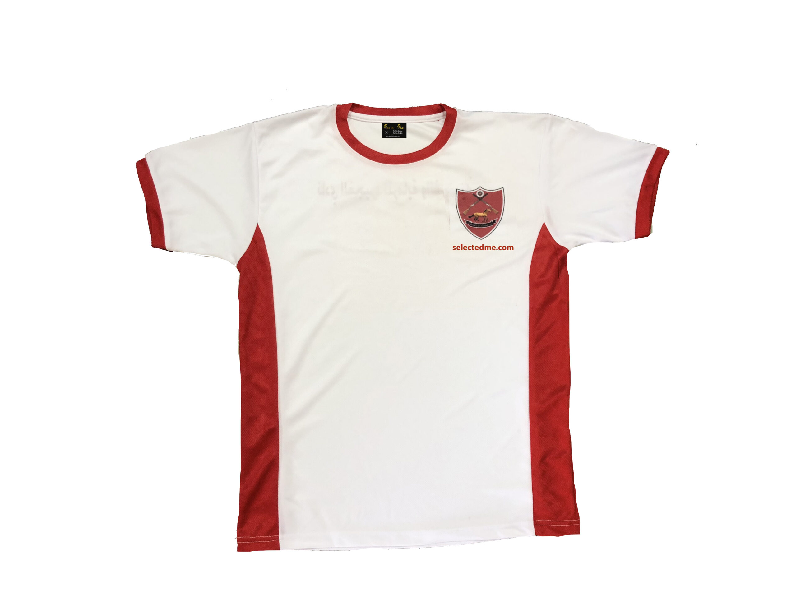 Sports T-shirts Mesh round neck